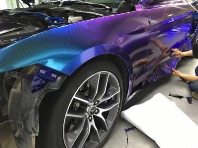 Оклейка автомобиля винилом – особенности эксплуатации